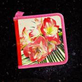 Porta-CD's 20 Compartimentos Floral - USADO