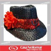 021152 - Chapéu de Napa Decorado Maria Padilha