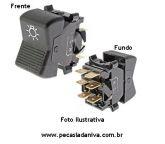 Botão ou Interruptor do Farol Laika (Novo) Ref. 0840
