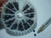 Spikes Aderecos para unha  Multicolor