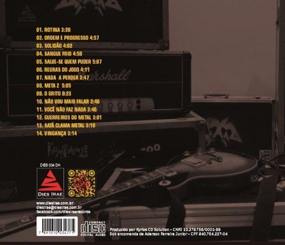 AZUL LIMÃO - Em Quarentena (CD)