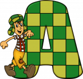 Alfabeto - Chaves 3 - PNG