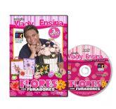 DVD Vlady Ensina - Flores com Furadores