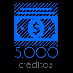 5,000 Moedas