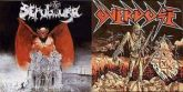 LP 12 - Sepultura / Overdose - Bestial Devastation / Século XX (Split - Vinil Roxo)