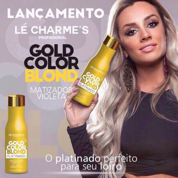 Intensy Color Gold Blond Matizador Efeito Perolado 500 ml