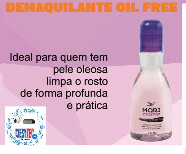Demaquilante  OIL FREE Mori