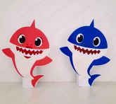 2 Displays de mesa - Baby Shark