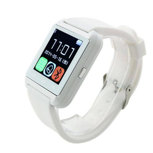 Relógio Bluetooth Branco Smartphone 007