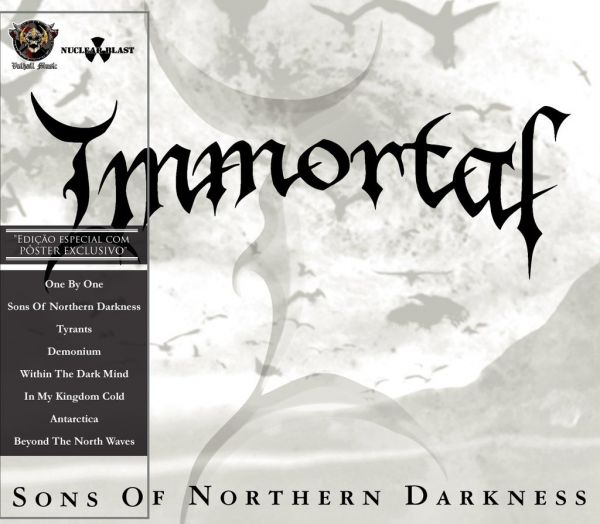 IMMORTAL - Sons Of Northern Darkness -[Edição especial]– Slipcase CD – [+Pôster]