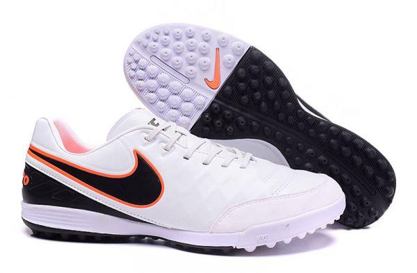 Chuteira Society Nike Tiempo Genio 2 Leather TF Originais - Daquiati 1ca3b544040cf
