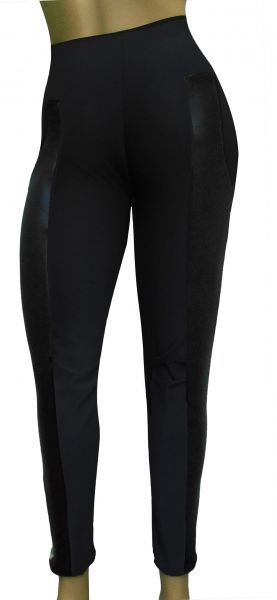 legging preta montaria(GG-46), cintura alta, suplex com detalhes em cirrê