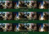 Papel Arroz Tartarugas Ninja Faixa Lateral A4 005 1un