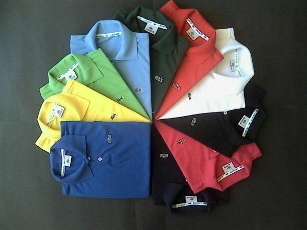 32f8fc568e Kit com 10 Camisas Polo Lacoste Infantil Masc. - Mix Polos Atacado