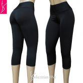 corsários plus size/calça capri 46-48/50-52/54 cintura alta, suplex gramatura média