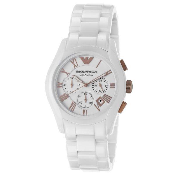 fd36b661e6c Relógio Empório Armani Ceramica Chronograph HAR1400Z - ChiqMixStore
