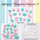 Apliques/ Pingentes Diversos (Mod.2)