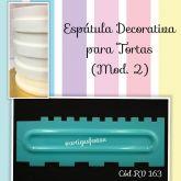 Espátula Decorativa Chantilly (Mod. 2)