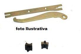 Alavanca da Sapata freio Traseira Manual + placa espaçadora usado LD Niva (ref. 0923)