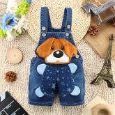 Jardineira Dog Jeans