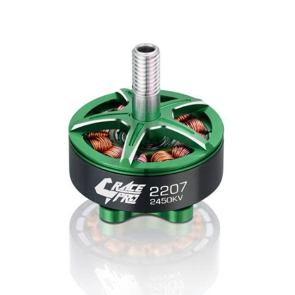 Kit 04 Motores Hobbywing Xrotor Race PRO 2207 2450kv Lipo 4S - 5S