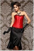 Corselet Luxo Vermelho