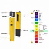 Medidor de pH Display Digital Para Água Aquários, Piscina, Cosméticos Com Estojo