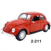 2 - Volkswagen Fusca 1973 - 1/24