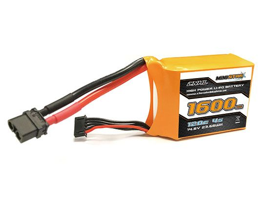 Bateria Lipo CNHL MiniStar 4S 14.8V  1600mah 120C XT60