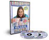 DVD Mini Albuns de Scrapbook com Cristina Bottallo - DVD DUP