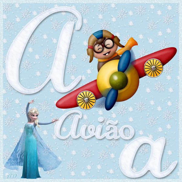 Alfabeto Educativo 1 - Frozen
