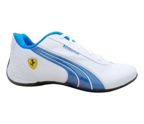 62380708a96 Tênis Puma Ferrari Drift Branco e Azul - Loja de netbrasa.nt