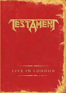DVD - Testament – Live In London