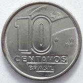 10 Centavos 1990 SOB/FC
