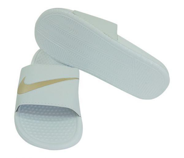 df37ef16fce827 Chinelo Nike Slide Tira Larga Branco - Buy Fast Shop