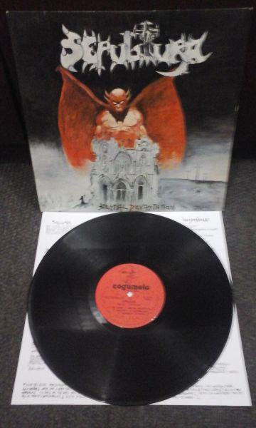 LP 12 - Sepultura / Overdose (Split)