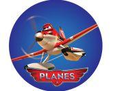 Papel Arroz Aviões Redondo 007 1un