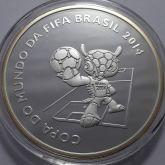 5 Reais 2014 - Copa do Mundo - Brasil - Fuleco