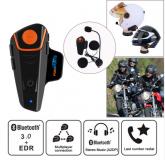 FONE OUVIDO BLUETOOTH C/ BATERIA ENDURO REGULARIDADE MOTOS ONROAD / OFFROAD COMUNICAÇÃO MICROFONE