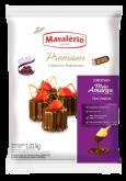 Cobertura em Gotas Premium para derreter sabor Chocolate meio amargo Mavalério 1kg 1un