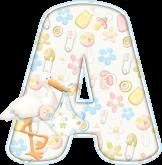 Alfabeto - Infantil 1 - PNG