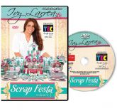 DVD Ivy Larrea - Scrap Festa Volume 3