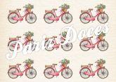 Papel Arroz Bicicleta Faixa Lateral A4 004 1un