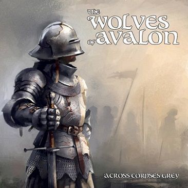 """The Wolves of Avalon - """"Across Corpses Grey"""" - CD"""