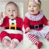 Conjunto Baby Noel Cód 10