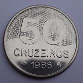 50 Cruzeiros 1986 SOB/FC