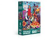 Postais do Brasil – Festas Típicas – Quebra Cabeça 500 peças Nano
