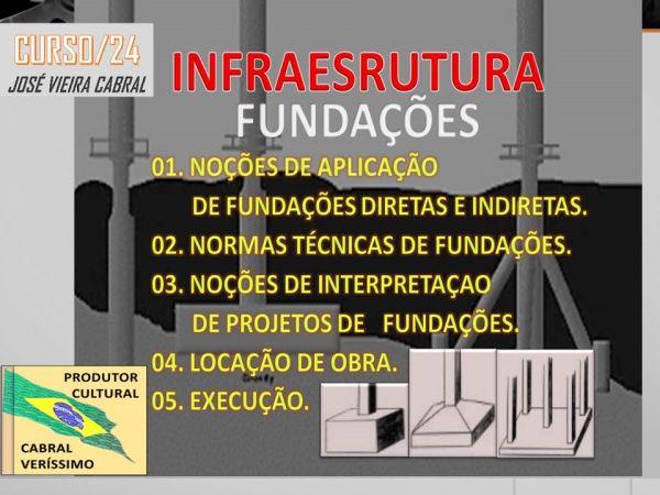 24. INFRAESTRUTURA - FUNDAÇÕES