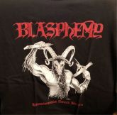BLASPHEMY - Blasphemous Attack Berlin - Office Shirt - LARGE