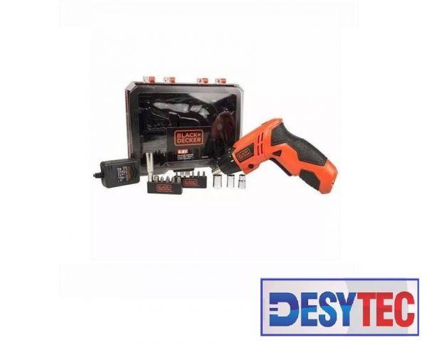 Parafusadeira 4.8V Black&Decker C/ 16 Acessórios - Bivolt
